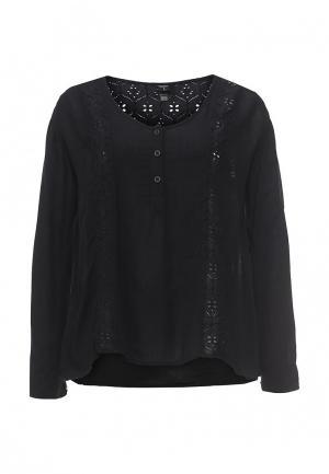 Блуза Volcom. Цвет: черный