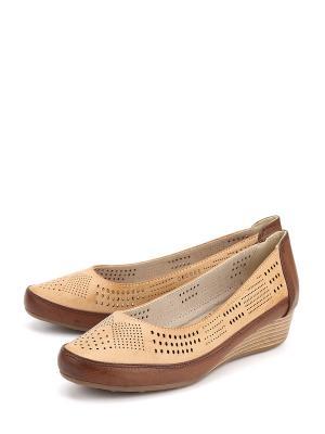 Туфли LETMI. Цвет: коричневый