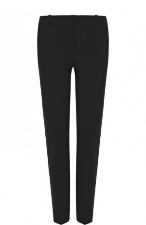 Однотонные укороченные брюки со стрелками Emilio Pucci. Цвет: черный