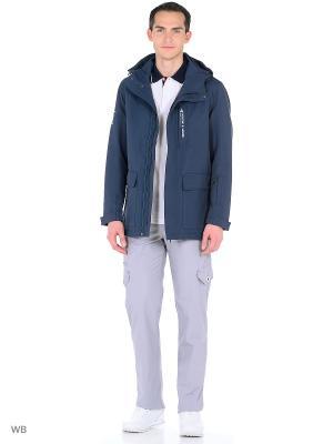 Куртка Stayer. Цвет: темно-синий