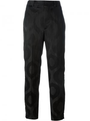 Жаккардовые брюки Syd Isabel Marant. Цвет: чёрный