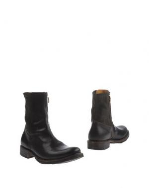 Полусапоги и высокие ботинки FIORENTINI+BAKER. Цвет: темно-коричневый
