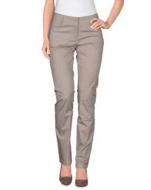Повседневные брюки CRISTINAEFFE. Цвет: светло-серый