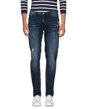 Джинсовые брюки BLK DNM. Цвет: синий