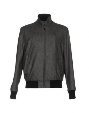 Куртка FAÇONNABLE. Цвет: серый