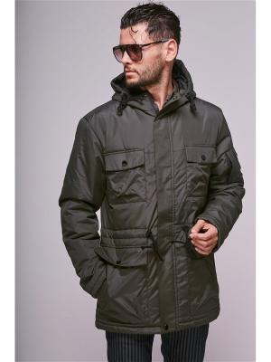 Куртка Nikolom. Цвет: хаки