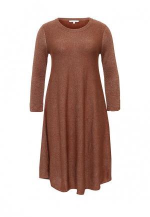 Платье Patrizia Pepe. Цвет: коричневый