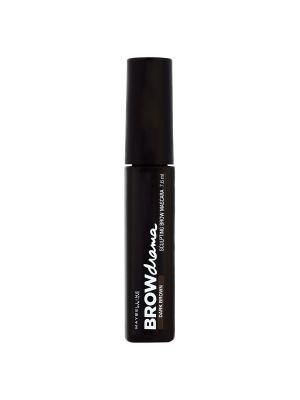 Тушь для бровей Brow Drama, темно-коричневый, 7,6 мл Maybelline New York. Цвет: темно-коричневый