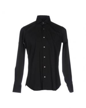 Pубашка GUGLIELMINOTTI. Цвет: черный