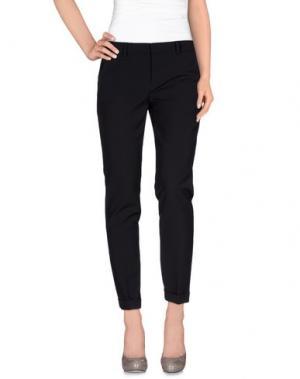 Повседневные брюки TWELVE-T. Цвет: серый
