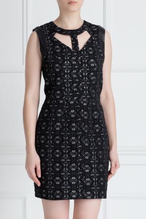 Платье-мини Maje. Цвет: черный