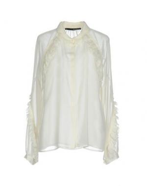 Pубашка ANNARITA N.. Цвет: белый