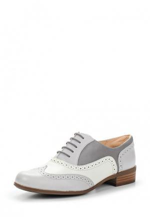 Ботинки Clarks. Цвет: серый
