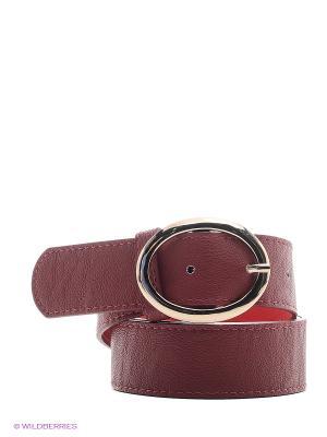 Ремень RUXARA. Цвет: бордовый