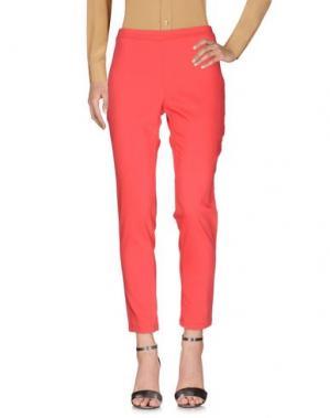 Повседневные брюки CORTE dei GONZAGA. Цвет: коралловый