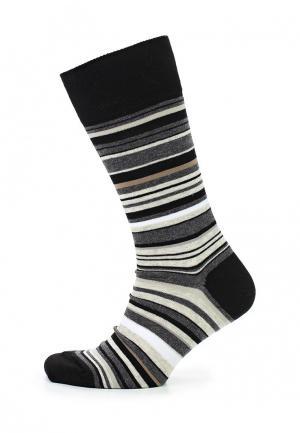 Носки Calvin Klein Underwear. Цвет: черно-белый
