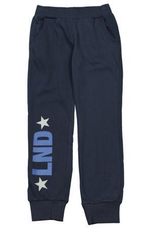 Спортивные брюки Dodipetto. Цвет: синий