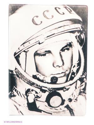 Обложка для паспорта Гагарин Mitya Veselkov. Цвет: коричневый