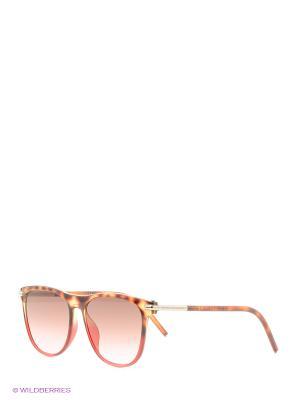 Солнцезащитные очки MARC JACOBS. Цвет: светло-коричневый, черный