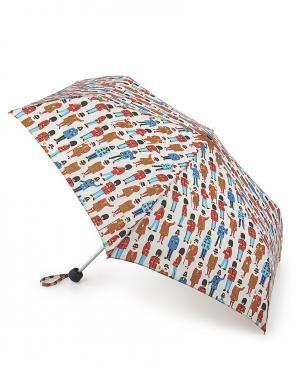 Зонт механический Охранники и друзья  by Fulton Cath Kidston. Цвет: белый