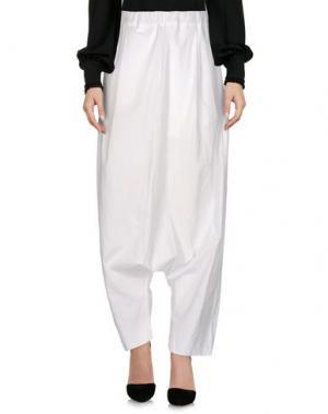 Повседневные брюки UN-NAMABLE. Цвет: белый