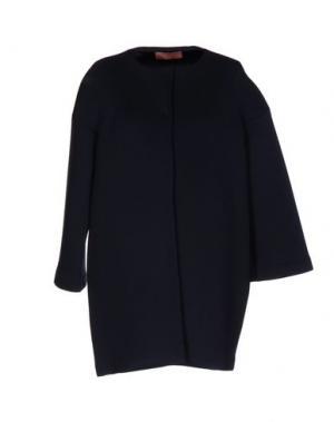 Легкое пальто AGATHA CRI. Цвет: темно-синий