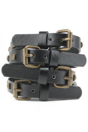 Ремешки для обуви Tesori. Цвет: черный