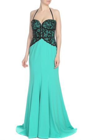 Платье Isabel Garcia. Цвет: billiard, jet black