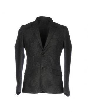 Пиджак QUINTESSENCE. Цвет: стальной серый