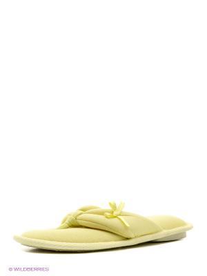 Тапочки RELAX MODE. Цвет: желтый