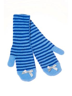 Варежки Shapkoff. Цвет: голубой, синий