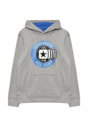 Худи Converse. Цвет: серый