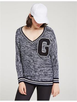 Пуловер Jennyfer. Цвет: белый, черный