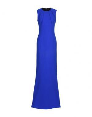Длинное платье JONATHAN SAUNDERS. Цвет: ярко-синий