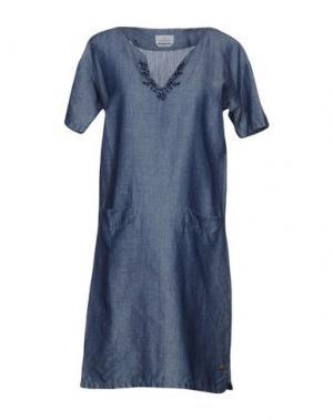 Короткое платье BROOKSFIELD. Цвет: синий