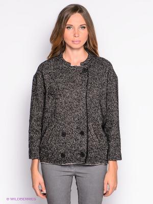 Жакет American Outfitters. Цвет: коричневый, черный