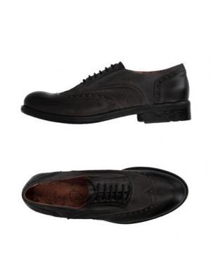 Обувь на шнурках YAB. Цвет: серый