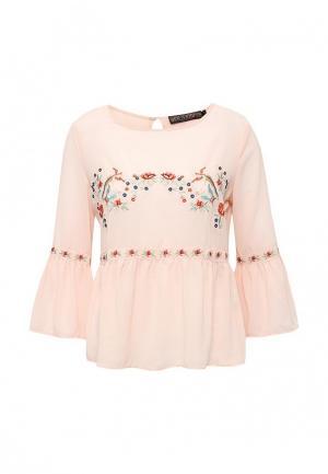 Блуза QED London. Цвет: розовый