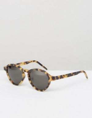 Retrosuperfuture Солнцезащитные очки Versilia. Цвет: коричневый
