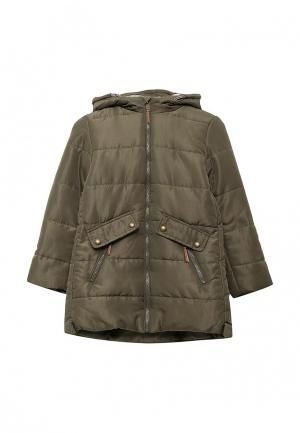 Куртка утепленная Modis. Цвет: хаки