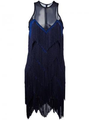 Платье Feria Galvan. Цвет: синий
