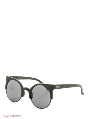 Солнцезащитные очки VANS. Цвет: черный