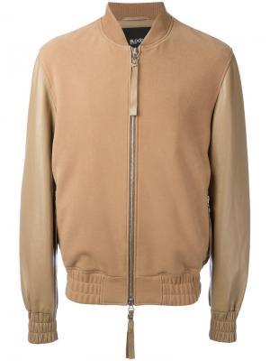 Куртка-бомбер Sand Blood Brother. Цвет: коричневый
