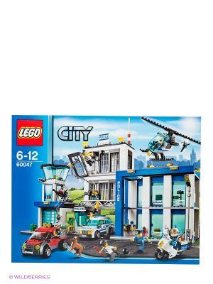 Игрушка Город Полицейский участок,номер модели 60047 LEGO. Цвет: серый, синий