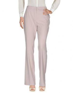 Повседневные брюки MYF. Цвет: голубиный серый