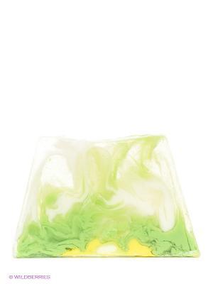 Туалетное мыло Райские яблочки по мотивам парфюма DKNY Be Delicious, 100гр. Мыловаров. Цвет: салатовый, светло-желтый, хаки