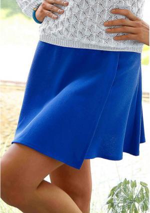 Юбка MY STYLE. Цвет: синий