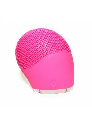 Прибор для очищения лица ПУЛЬС БЬЮТИ BRADEX. Цвет: розовый
