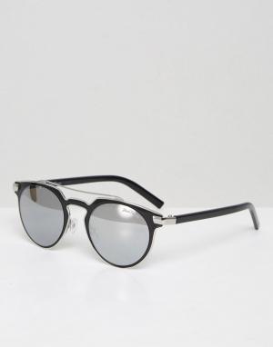 Black Phoenix Солнцезащитные очки с планкой. Цвет: черный