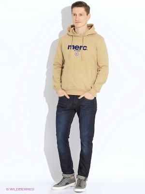 Свитшот MERC. Цвет: хаки, темно-бежевый, бледно-розовый